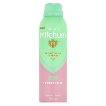 Mitchum Women Powder Fresh Anti-Perspirant 200ml