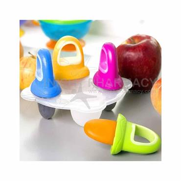 Nuby Garden Fresh Fruitsicles 6m+ 4 Pack
