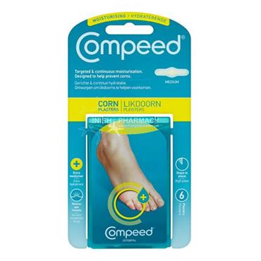 Compeed Corn Plasters Medium 6 Pack