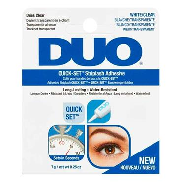 Duo Quickset Striplash Adhesive White/Clear 7g