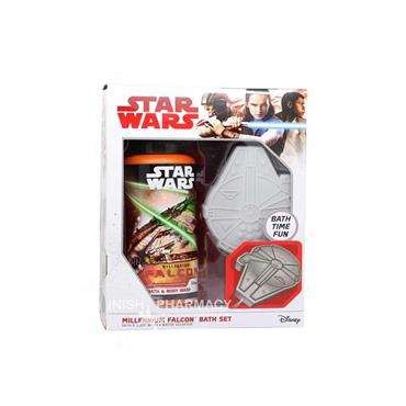 Star Wars Millenium Falcon Bath Set