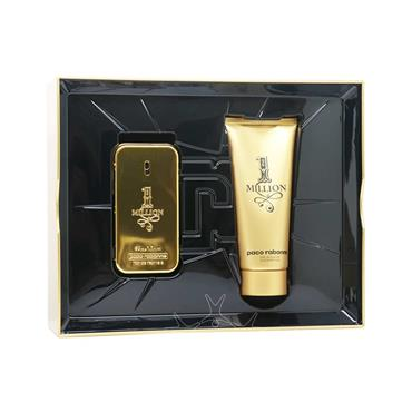 Paco Rabanne 1 Million Mens 2 Piece Gift Set EDT 50ml & Shower Gel 100ml