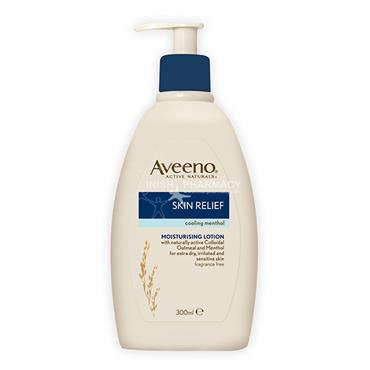 Aveeno Skin Relief Cooling Menthol Moisturising Lotion Pump 300ml