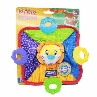 Nuby Teething Blankie 0m+