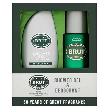 Brut Shower Gel & Deodorant 2 Piece Gift Set