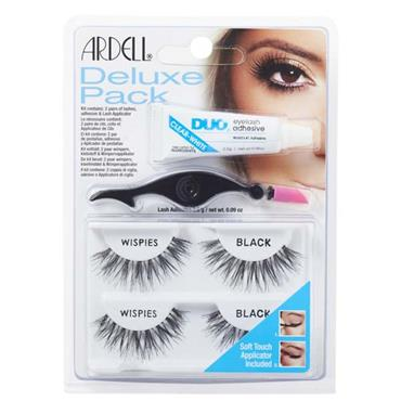 Ardell Deluxe Pack Wispies Black Eyelashes