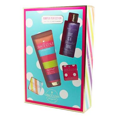 Grace Cole Pamper Perfection 4 Piece Gift Set