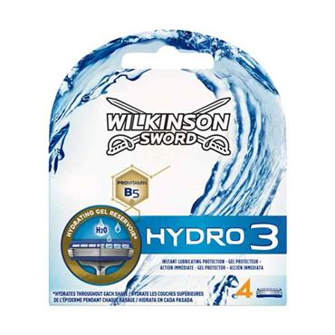 Wilkinson Sword Hydro 3 Blades 4 Pack