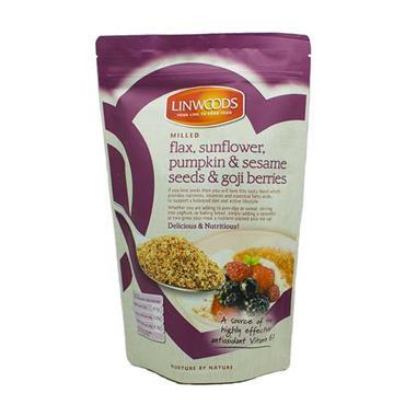 Linwoods Milled Flax Sunflower Pumpkin & Sesame Seeds & Goji Berries Gluten Free 425g