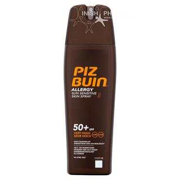 Piz Buin Sun Sensitive Allergy Spray SPF50 200ml