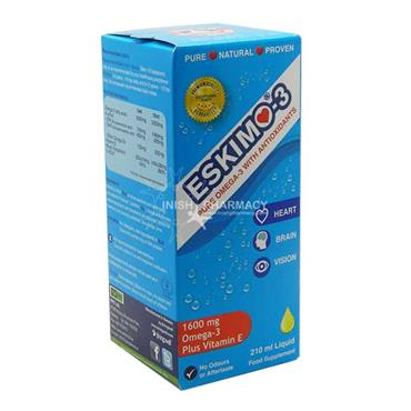 Eskimo Omega 3 With Vit E 1600mg 210ml