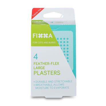 FIXXA Feather Flex Large Plasters 4 Pack