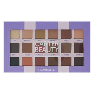 Carter Beauty Smooth Nude 18-shade Palette