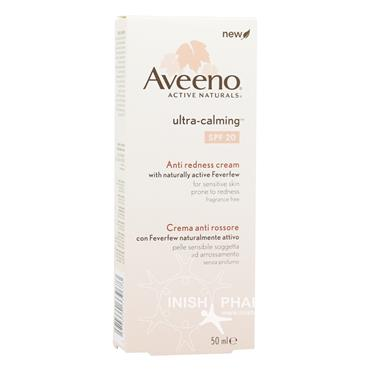 Aveeno Ultra - Calming Anti Redness Cream SPF20
