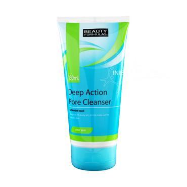 Beauty Formulas Deep Pore Action Cleanser 150ml 88318