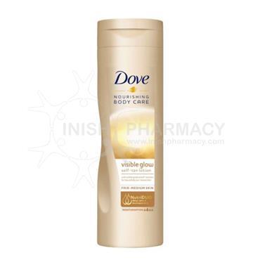 Dove Summer Glow Nourishing Lotion Fair/Med Skin 250ml