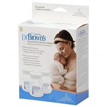 Dr Browns Breastmilk Collection Bottles 3 X 120ml