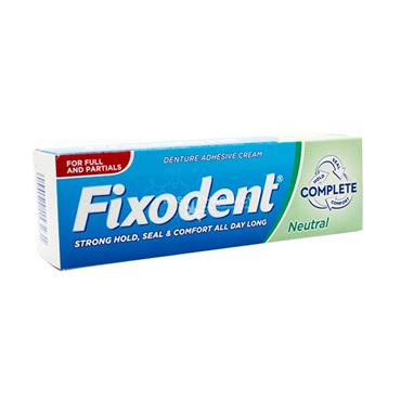 Fixodent Neutral Taste Denture Adhesive Cream 40g