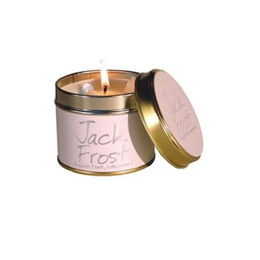 Lily Flame Candle In A Tin Jack Frost