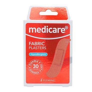 Medicare Fabric Plasters 30 Pack MD02/1