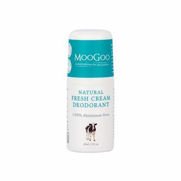 Moogoo Fresh Cream Aluminium Free Deodorant 60ml
