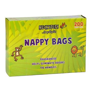 Muckypups Nappy Bags 200 pack