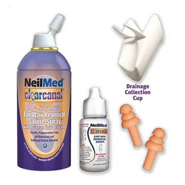 NeilMed Ear Wax Removal Kit