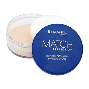 Rimmel Match Perfection 001 Transparent Loose Powder