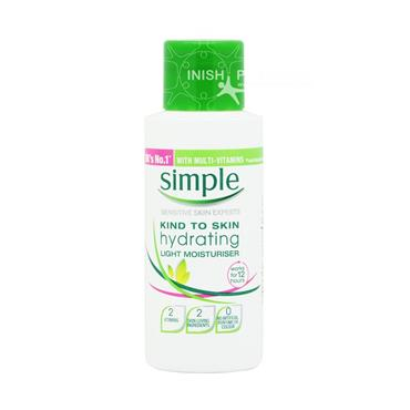Simple Light Moisturiser Travel Size 50ml