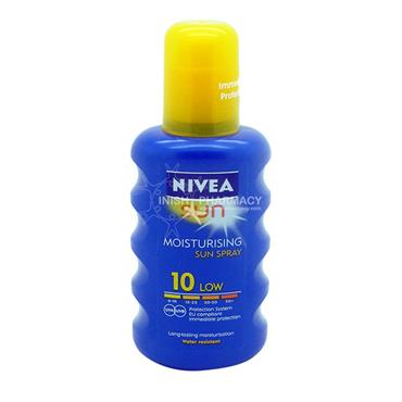 Nivea Sun Moisturising Sun Spray SPF10 200ml