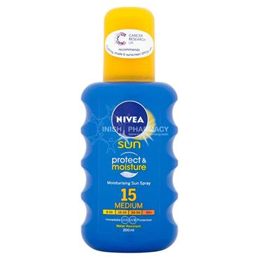 Nivea Sun Moisturising Sun Spray F15 200ml