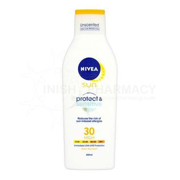 Nivea Sun Sensitive SPF30 200ml