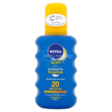 Nivea Sun Protect & Moisture Spray SPF20 200ml