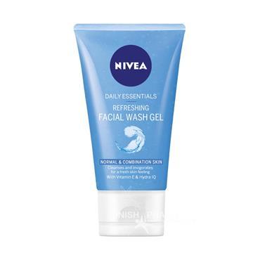 Nivea Daily Essentials Refreshing Facial Wash Gel 150ml