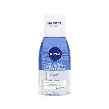 Nivea Daily Essentials Double Effect Eye Makeup Remover for All Skin Types 125ml