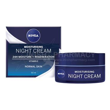 Nivea Moisturising Regenerating Night Cream 50ml