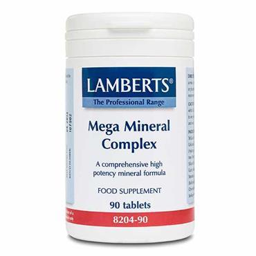 Lamberts Mega Mineral Complex 90 Tabs