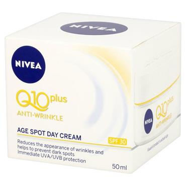 Nivea Q10 Plus Anti-Wrinkle Age Spot Day Cream SPF30 50ml