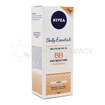 Nivea Daily Essentials BB Cream SPF20 - Light