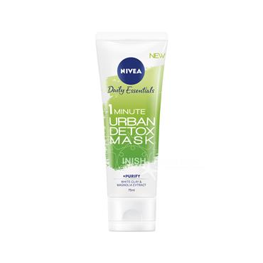 Nivea Daily Essentials 1 Minute Urban Detox Mask 75ml