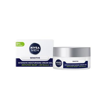 Nivea Men Sensitive Intensive Moisturising Cream Gel 50ml