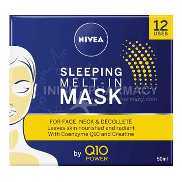 Nivea Q10 Power Sleeping Melt-In Mask 50ml