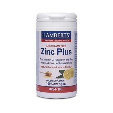 Lamberts Aspartame Free Zinc Plus 100 Lozenges