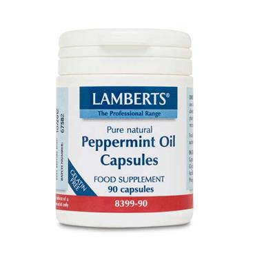 Lamberts Peppermint Oil 100mg 90 Caps