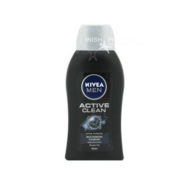 Nivea Men Shower Active Clean Charcoal 50ml