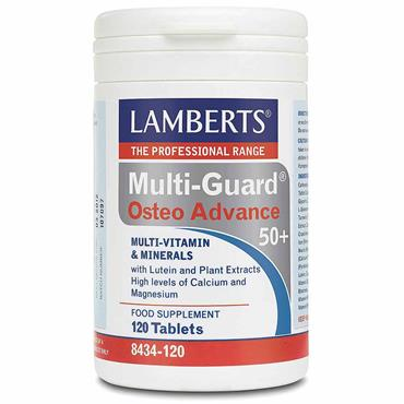 Lamberts Multi-Guard Osteo Advance For Over 50s Food Supplement 120 Tabs