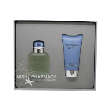 Dolce & Gabbana Light Blue For Men 2 Piece Gift Set