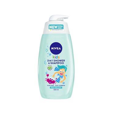 Nivea Kids 2 in 1 Shower & Shampoo Magic Apple Scent 500ml