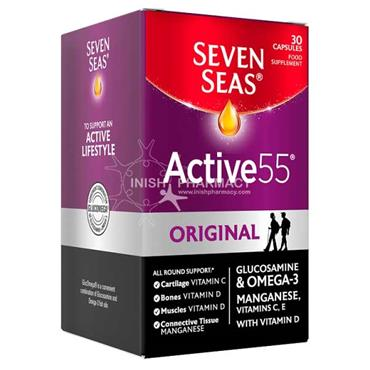 Seven Seas Active 55 Plus Glucosamine 30 Capsules