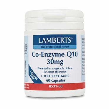 Lamberts Co Enzyme Q10 30mg 60 Tabs
